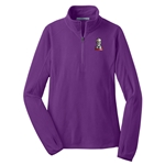KF1054 - Ladies Microfleece 1/2 Zip Pullover