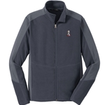 KF1063 - Men's Colorblock Microfleece Jacket