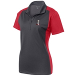 KF1106 -  Ladies Colorblock Micropique Sport-Wick® Polo