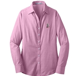 KF1110 -  Port Authority® Ladies Crosshatch Easy Care Shirt