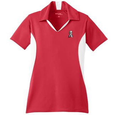 KF1076 - Ladies Side Blocked Micropique Sport-Wick Polo