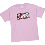 KF1009 -  Chicken Capital USA T-Shirt - Pink